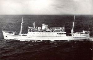 シーオーグの船「アポロ号」
